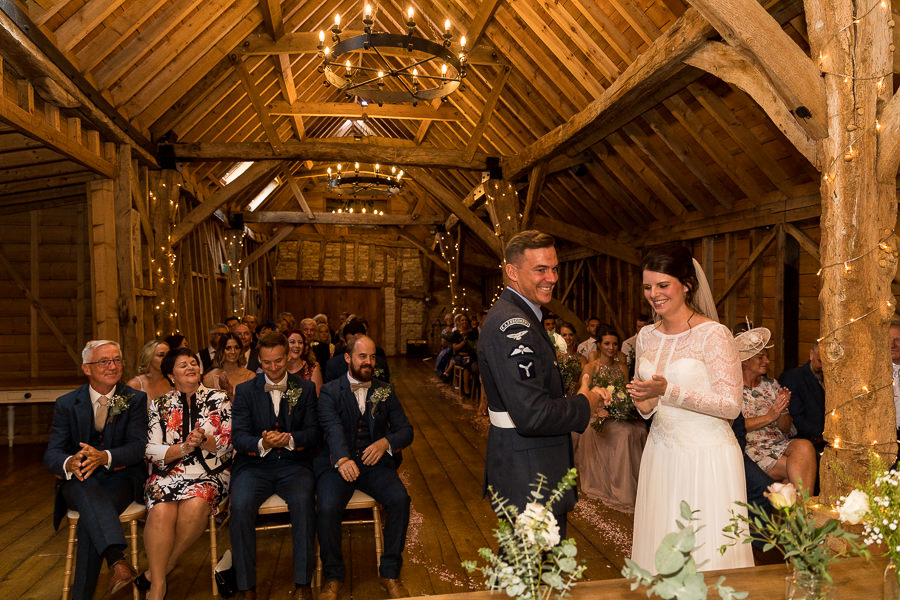 Natural styling for a relaxed and beautiful English wedding with images by Sky Photography (14)