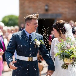 Kayleigh and Kieron's beautiful English country wedding, with Sky Photography