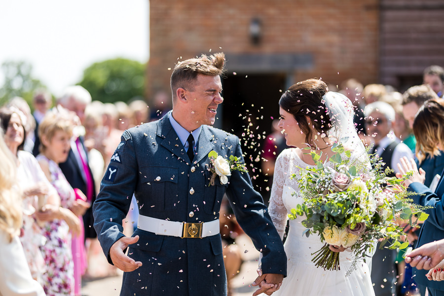 Natural styling for a relaxed and beautiful English wedding with images by Sky Photography (17)