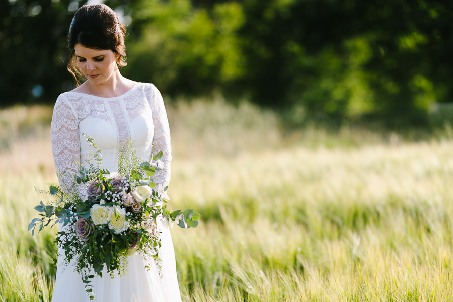Natural styling for a relaxed and beautiful English wedding with images by Sky Photography (34)