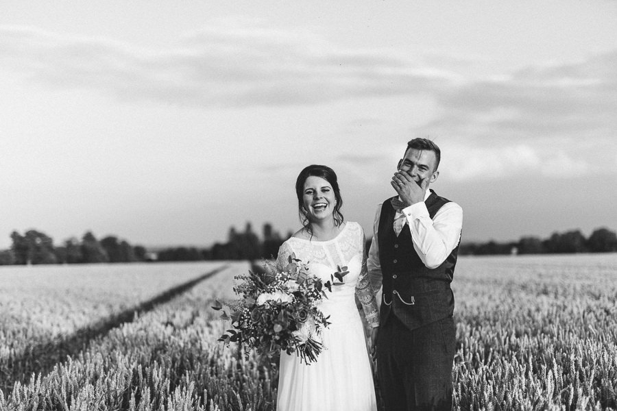 Natural styling for a relaxed and beautiful English wedding with images by Sky Photography (42)