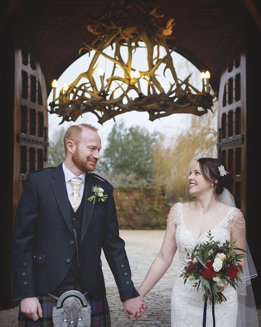 Elegant Christmas wedding ideas for a Waddesdon Dairy wedding, images by Katrina Matthews Photography (23)