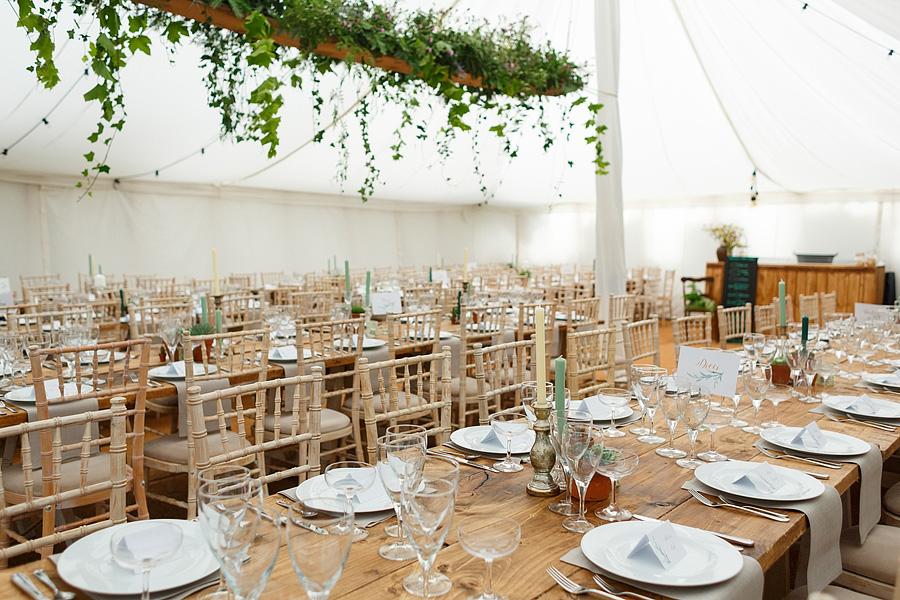 Norfolk wedding blog with hanging florals, image credit Duncan Kerridge on the English Wedding Blog (18)