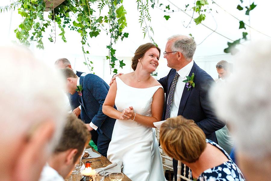 Norfolk wedding blog with hanging florals, image credit Duncan Kerridge on the English Wedding Blog (26)
