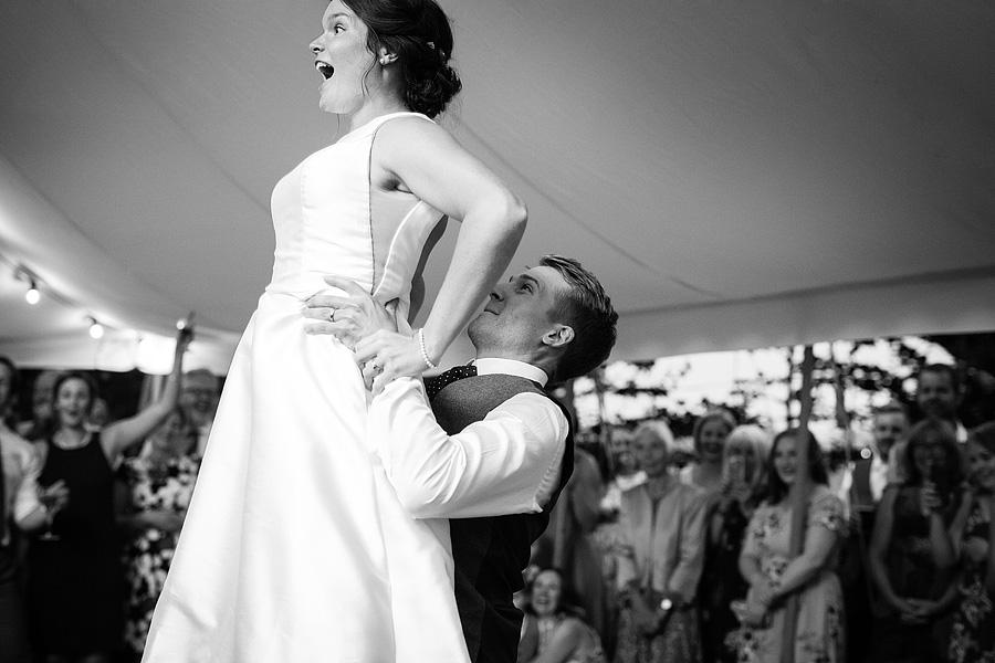Norfolk wedding blog with hanging florals, image credit Duncan Kerridge on the English Wedding Blog (32)
