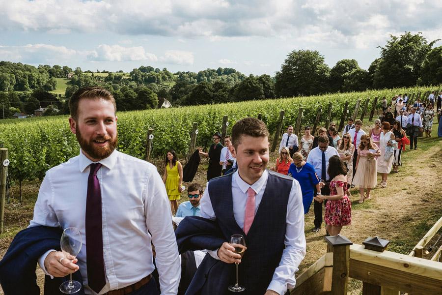 Exceptional UK wedding photographers York Place Studios - real vineyard wedding on English Wedding Blog (25)