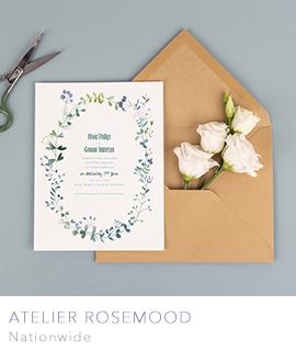 Designer wedding stationery