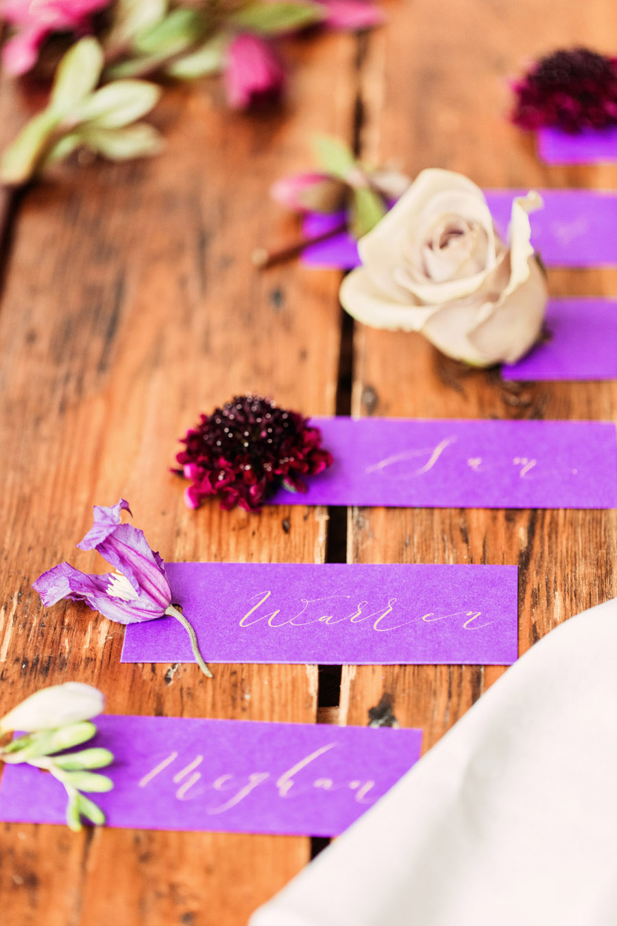Calligraphy wedding service for place names and more - written by By Moon and Tide Calligraphy - image credit Camilla Lucinda (8)