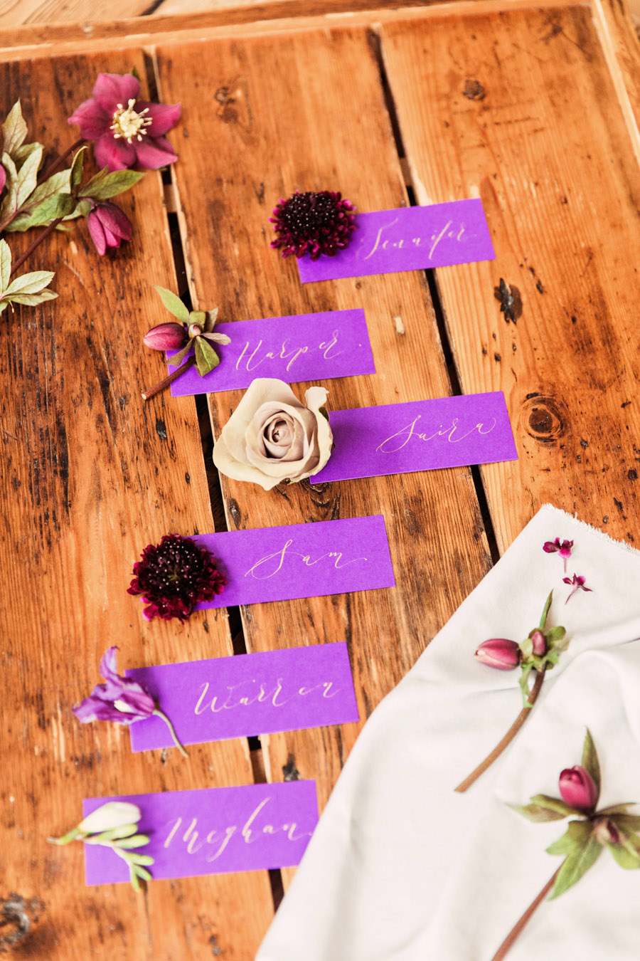 Calligraphy wedding service for place names and more - written by By Moon and Tide Calligraphy - image credit Camilla Lucinda (6)