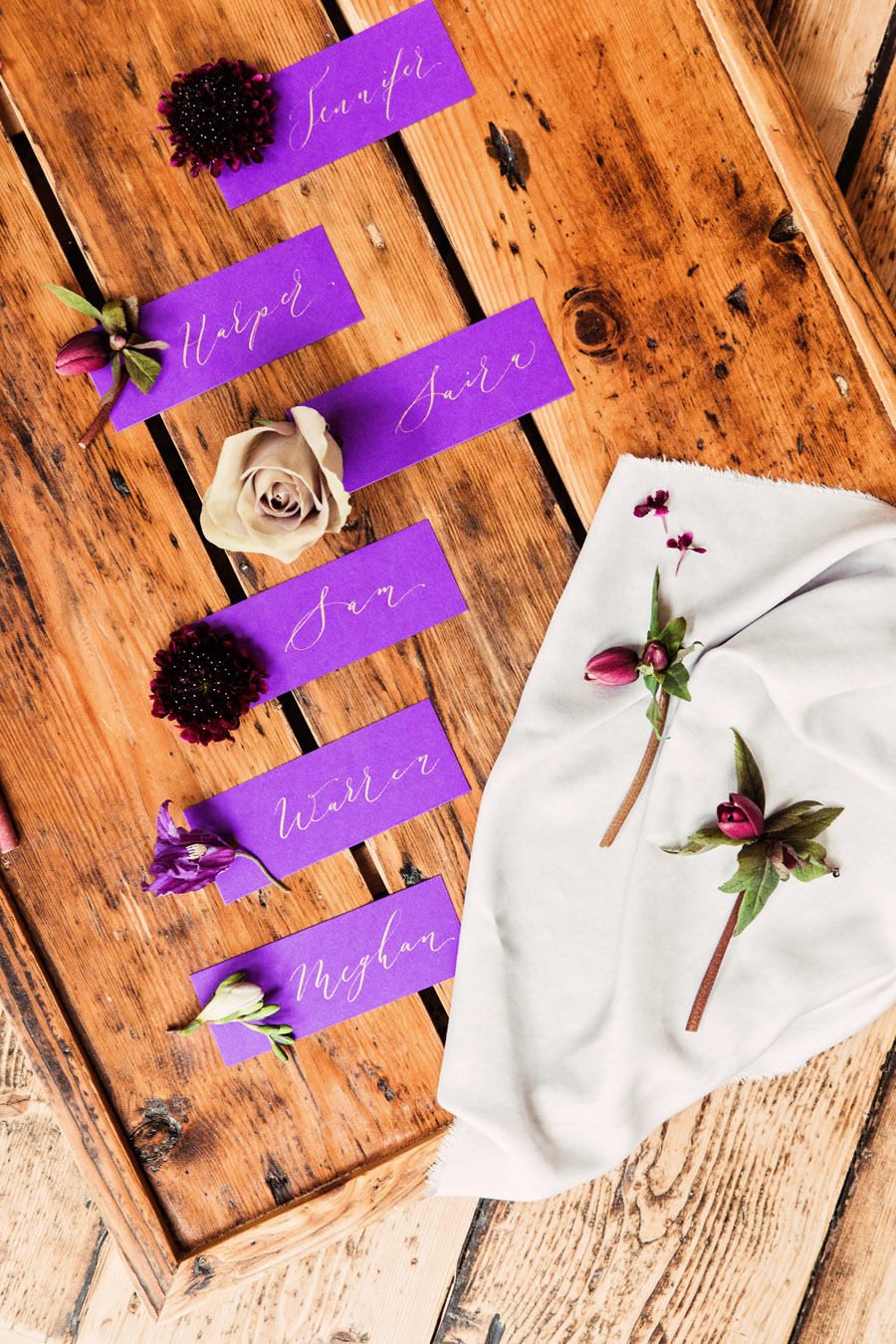 Calligraphy wedding service for place names and more - written by By Moon and Tide Calligraphy - image credit Camilla Lucinda (5)