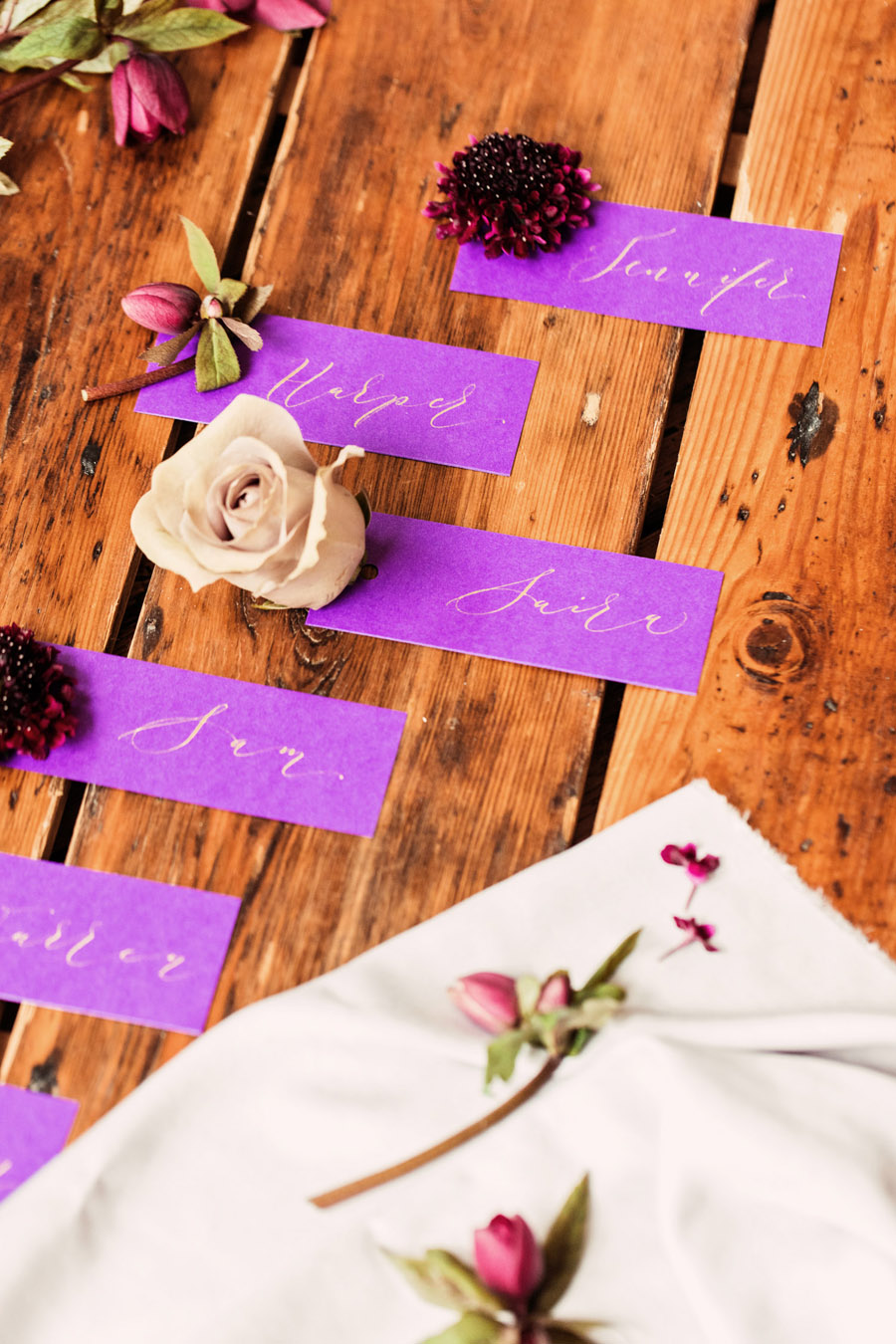 Calligraphy wedding service for place names and more - written by By Moon and Tide Calligraphy - image credit Camilla Lucinda (3)