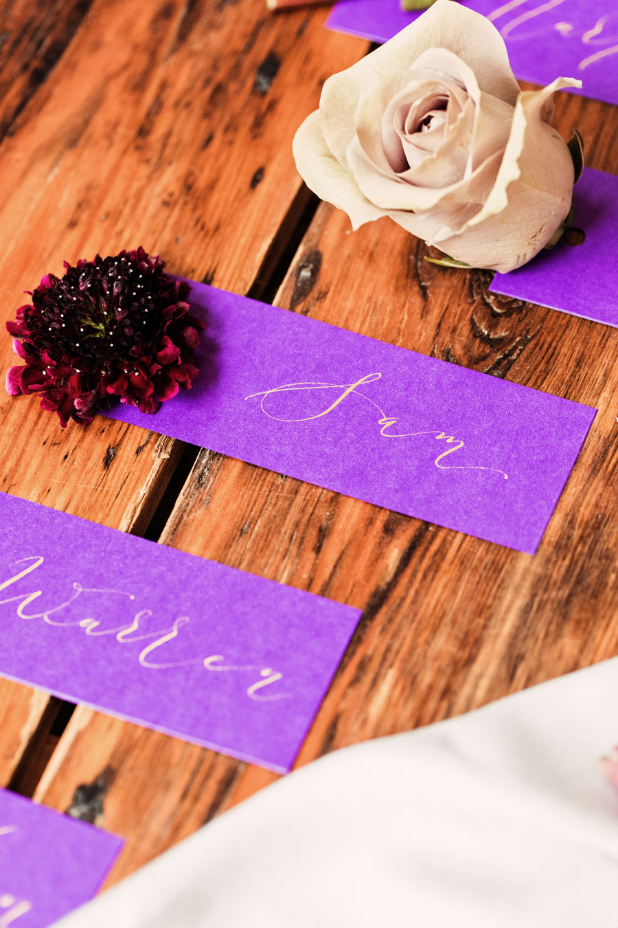 Calligraphy wedding service for place names and more - written by By Moon and Tide Calligraphy - image credit Camilla Lucinda (2)