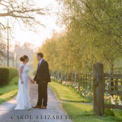 Fiona and Ashley's rustic barn wedding in Oxfordshire, with Carol Elizabeth Photography