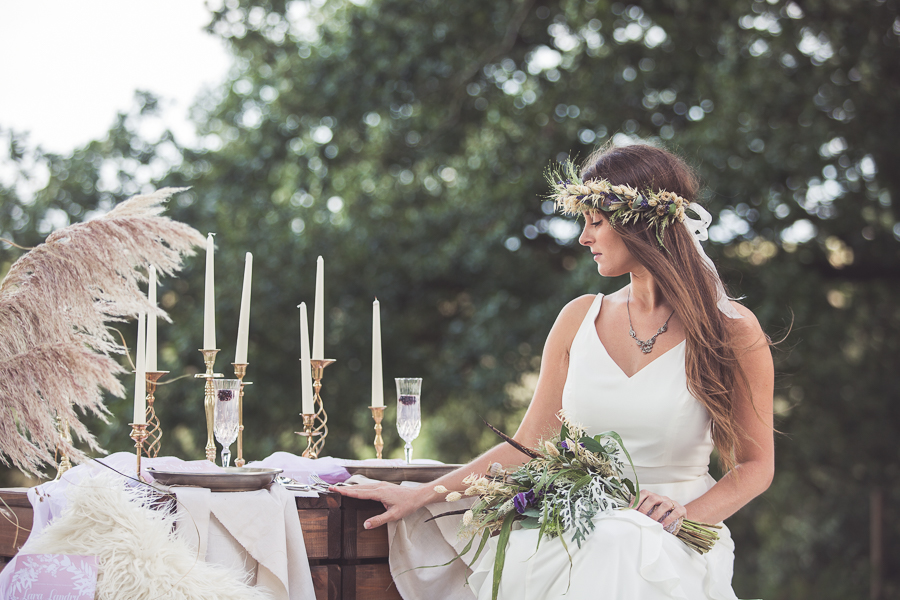 Beach boho wedding styling ideas from the UK, image credit Katie Mortimore (10)