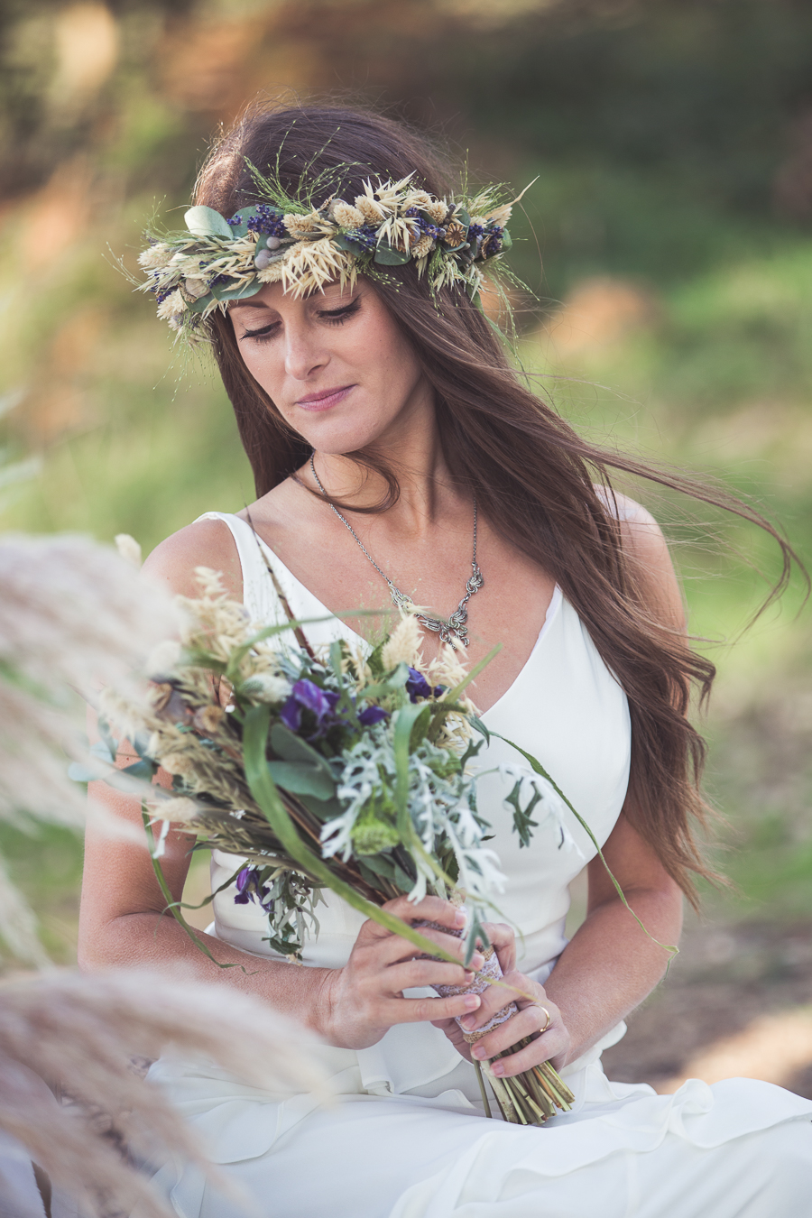 Beach boho wedding styling ideas from the UK, image credit Katie Mortimore (11)