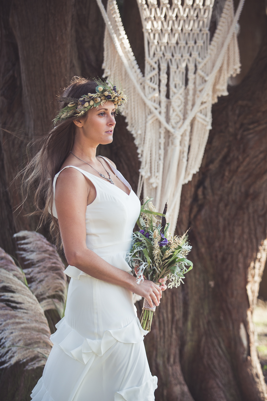 Beach boho wedding styling ideas from the UK, image credit Katie Mortimore (14)