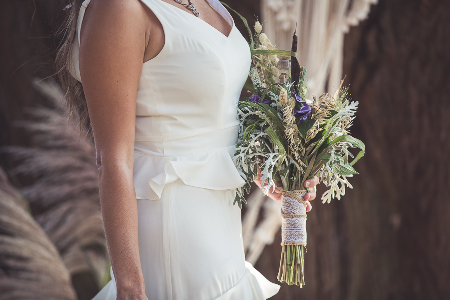 Beach boho wedding styling ideas from the UK, image credit Katie Mortimore (16)