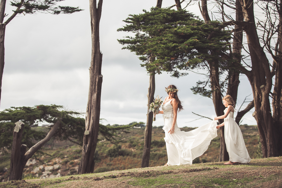 Beach boho wedding styling ideas from the UK, image credit Katie Mortimore (25)