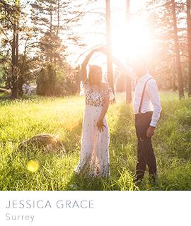 Surrey wedding photographer Jessica Grace