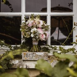 Romantic floral styling for Martine & Nick's 10 Castle St wedding, with Robin Goodlad Photography
