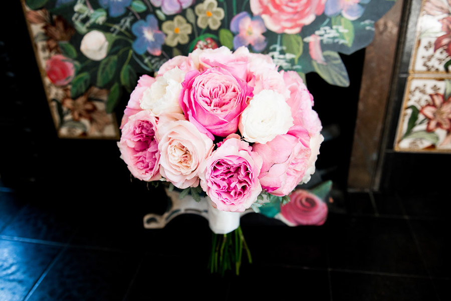 Fabulously feminine sparkly wedding styling from Rectory Farm on English Wedding - credit Nicola Norton Photography (2)