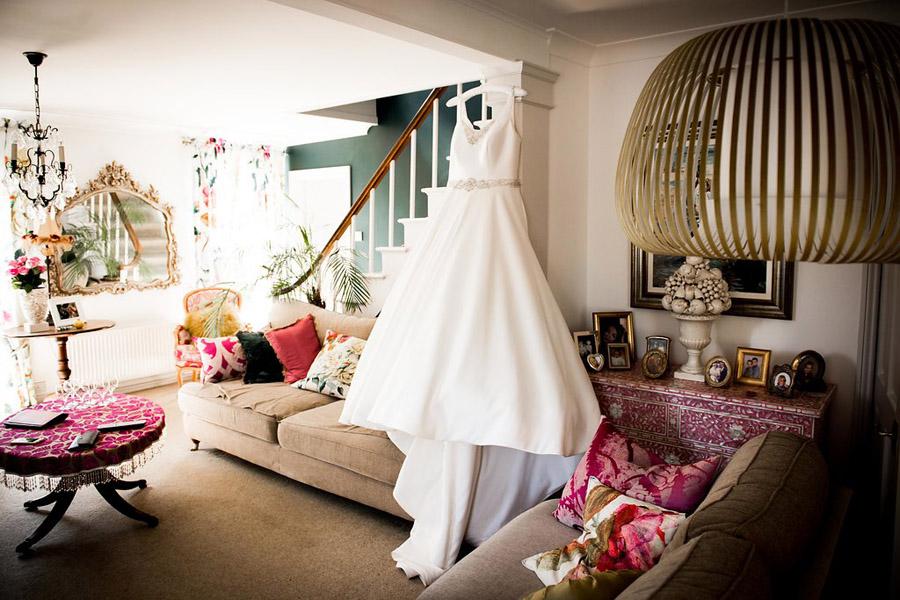 Fabulously feminine sparkly wedding styling from Rectory Farm on English Wedding - credit Nicola Norton Photography (4)
