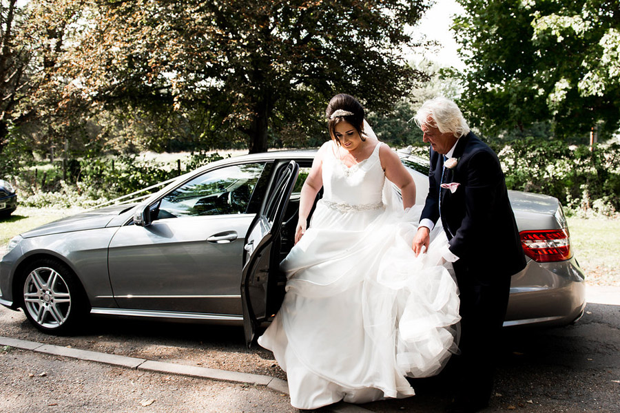Fabulously feminine sparkly wedding styling from Rectory Farm on English Wedding - credit Nicola Norton Photography (15)