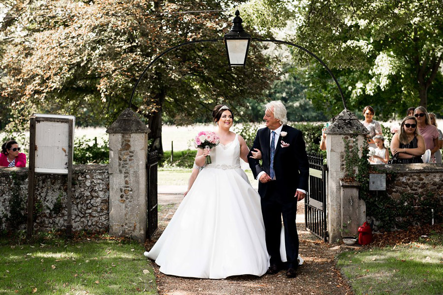 Fabulously feminine sparkly wedding styling from Rectory Farm on English Wedding - credit Nicola Norton Photography (16)