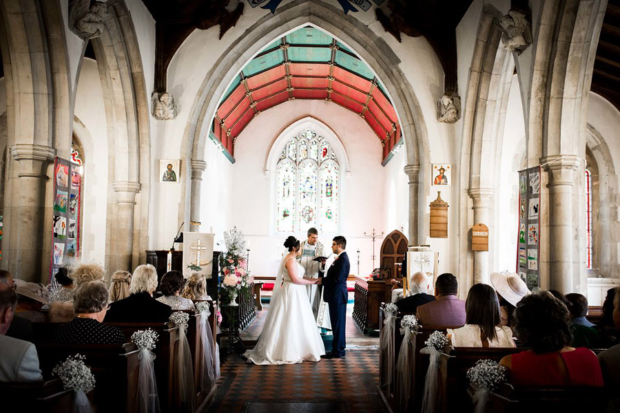 Fabulously feminine sparkly wedding styling from Rectory Farm on English Wedding - credit Nicola Norton Photography (20)