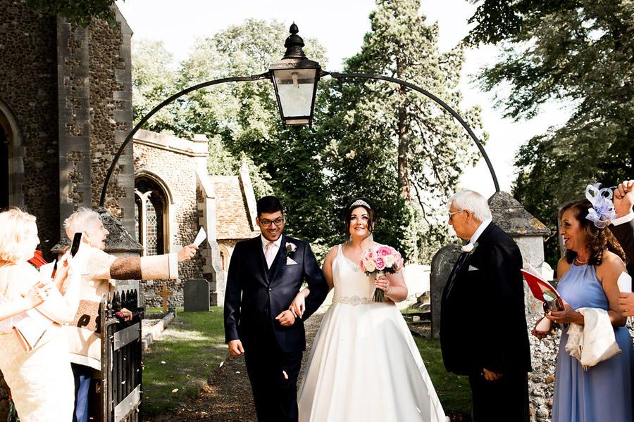 Fabulously feminine sparkly wedding styling from Rectory Farm on English Wedding - credit Nicola Norton Photography (21)