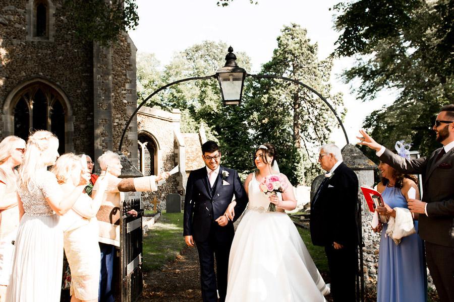 Fabulously feminine sparkly wedding styling from Rectory Farm on English Wedding - credit Nicola Norton Photography (22)