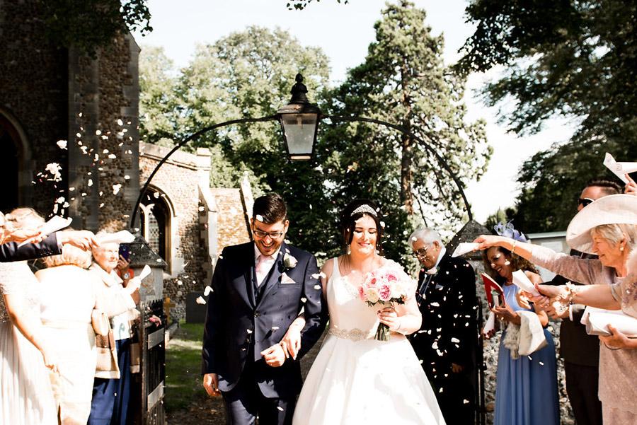 Fabulously feminine sparkly wedding styling from Rectory Farm on English Wedding - credit Nicola Norton Photography (23)