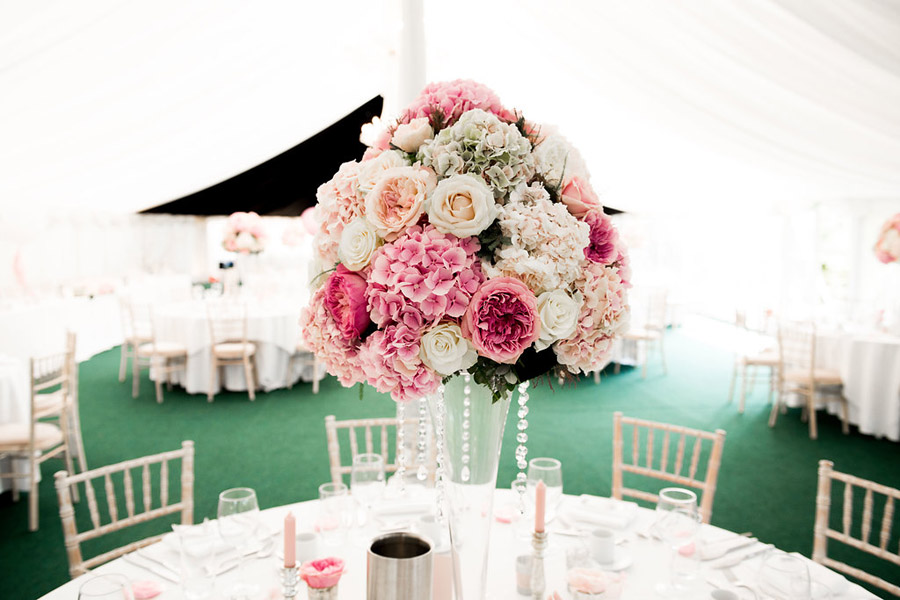 Fabulously feminine sparkly wedding styling from Rectory Farm on English Wedding - credit Nicola Norton Photography (24)