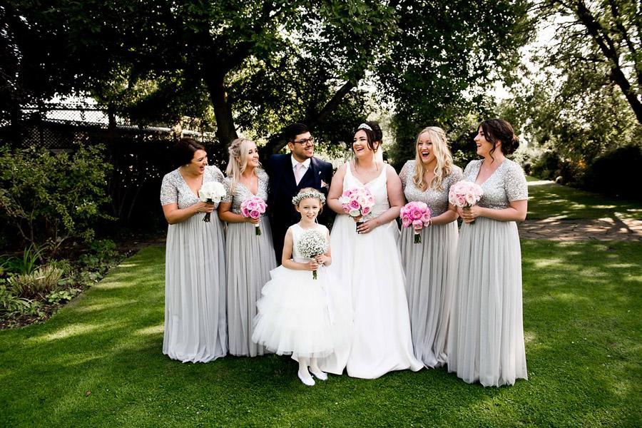 Fabulously feminine sparkly wedding styling from Rectory Farm on English Wedding - credit Nicola Norton Photography (30)