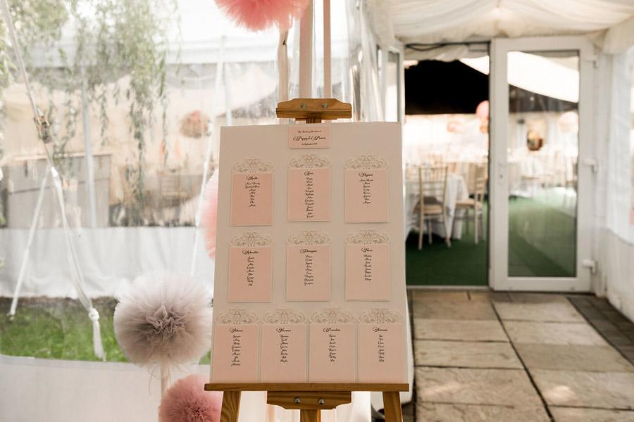 Fabulously feminine sparkly wedding styling from Rectory Farm on English Wedding - credit Nicola Norton Photography (32)