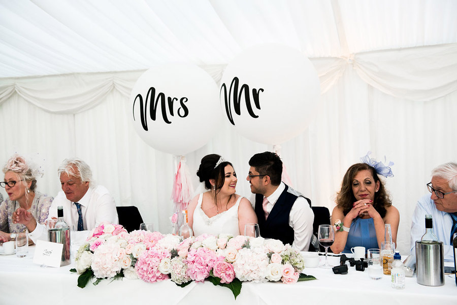 Fabulously feminine sparkly wedding styling from Rectory Farm on English Wedding - credit Nicola Norton Photography (36)