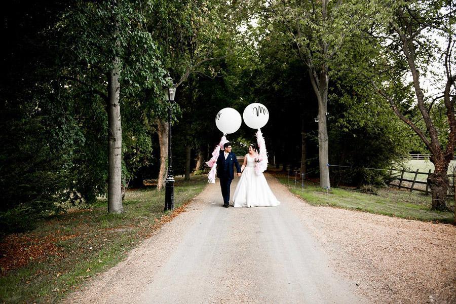 Fabulously feminine sparkly wedding styling from Rectory Farm on English Wedding - credit Nicola Norton Photography (37)