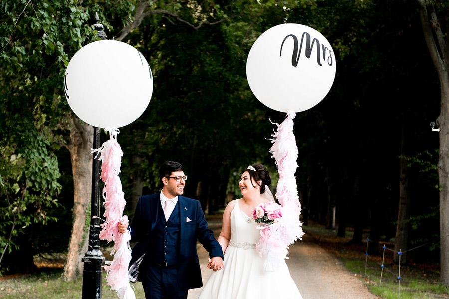 Fabulously feminine sparkly wedding styling from Rectory Farm on English Wedding - credit Nicola Norton Photography (38)