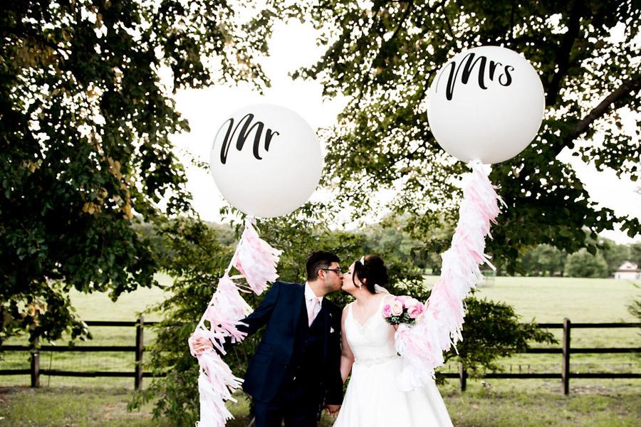 Fabulously feminine sparkly wedding styling from Rectory Farm on English Wedding - credit Nicola Norton Photography (39)