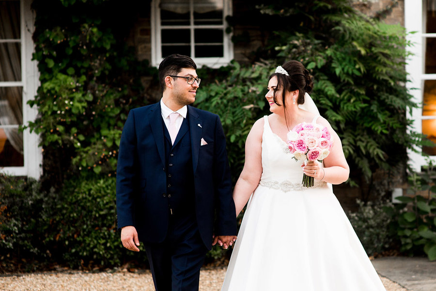 Fabulously feminine sparkly wedding styling from Rectory Farm on English Wedding - credit Nicola Norton Photography (40)