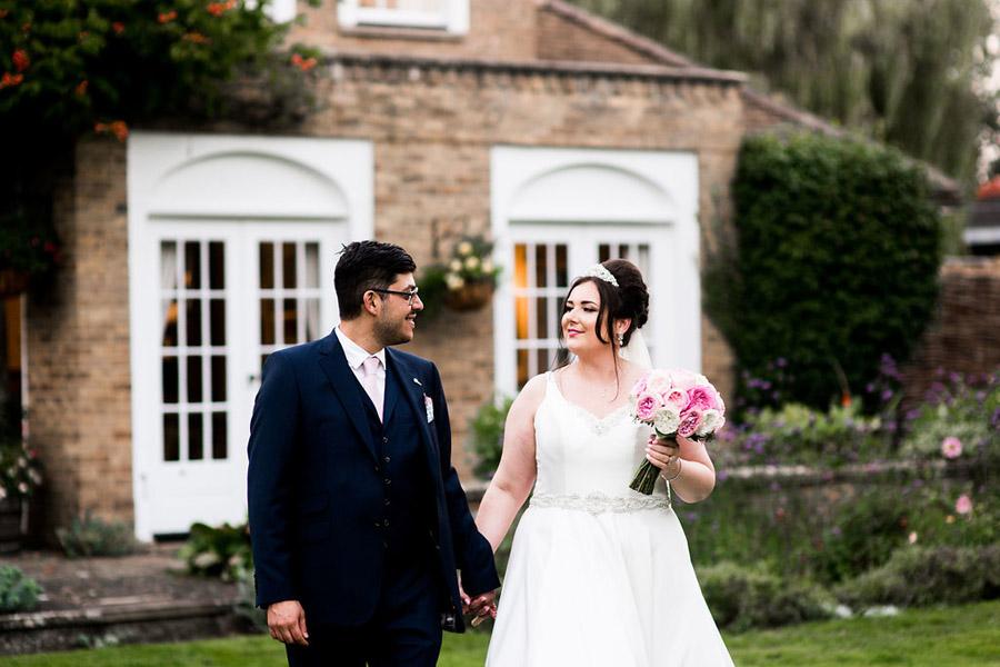 Fabulously feminine sparkly wedding styling from Rectory Farm on English Wedding - credit Nicola Norton Photography (43)