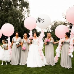Pink sparkles for a Rectory Farm wedding full of love and Ouzo! With Nicola Norton Photography