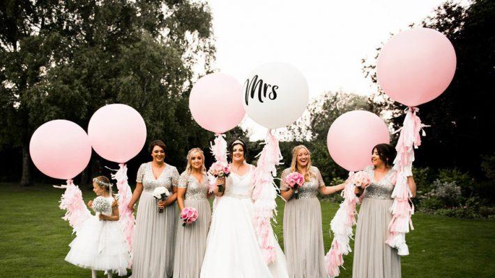 Fabulously feminine sparkly wedding styling from Rectory Farm on English Wedding - credit Nicola Norton Photography (44)