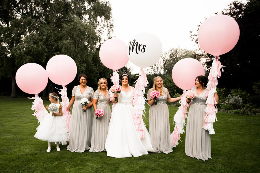 Fabulously feminine sparkly wedding styling from Rectory Farm on English Wedding - credit Nicola Norton Photography (44)