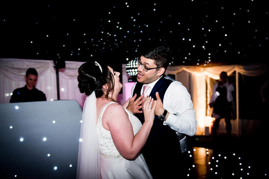 Fabulously feminine sparkly wedding styling from Rectory Farm on English Wedding - credit Nicola Norton Photography (45)