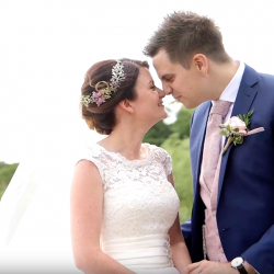The sweetest wedding highlights film – and wedding vows – you ever saw!