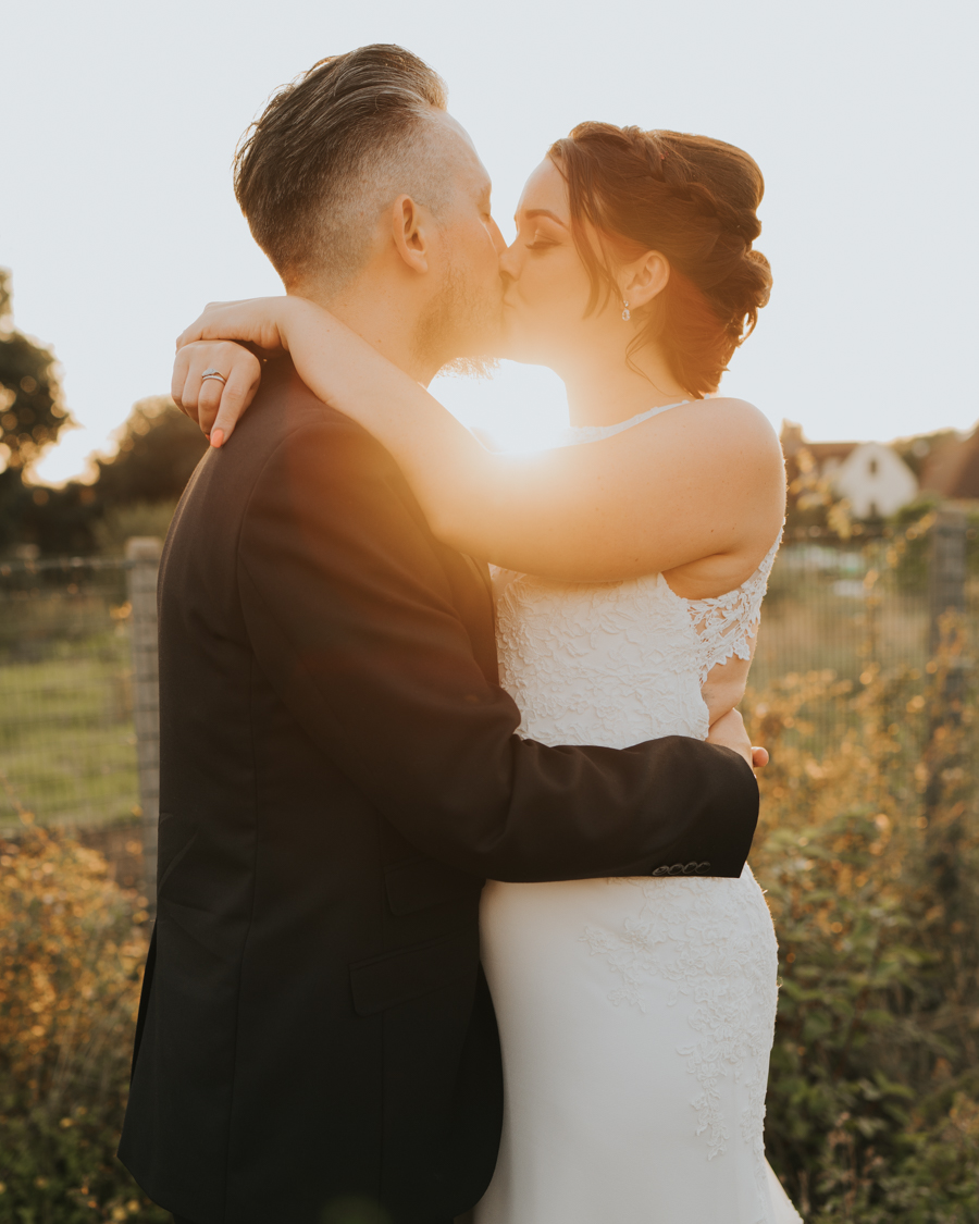 Golden hour wedding pics for a gorgeous colchester wedding, with Photography by Grace (16)