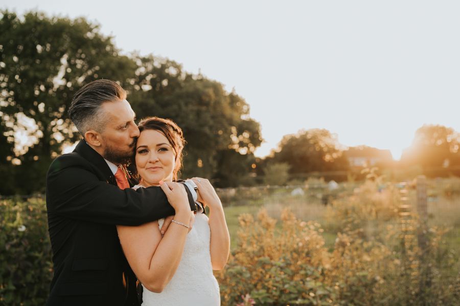 Golden hour wedding pics for a gorgeous colchester wedding, with Photography by Grace (17)