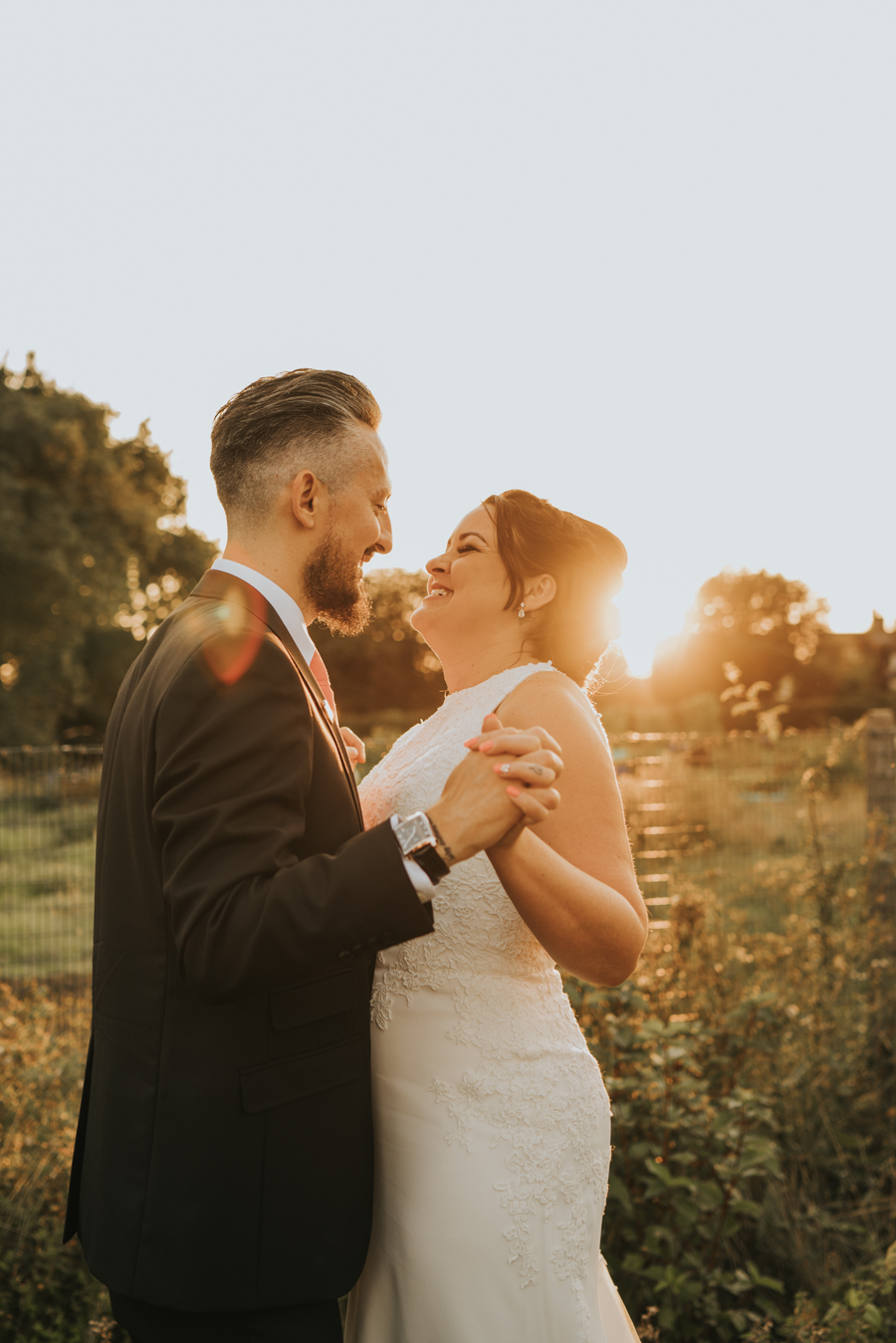 Golden hour wedding pics for a gorgeous colchester wedding, with Photography by Grace (18)