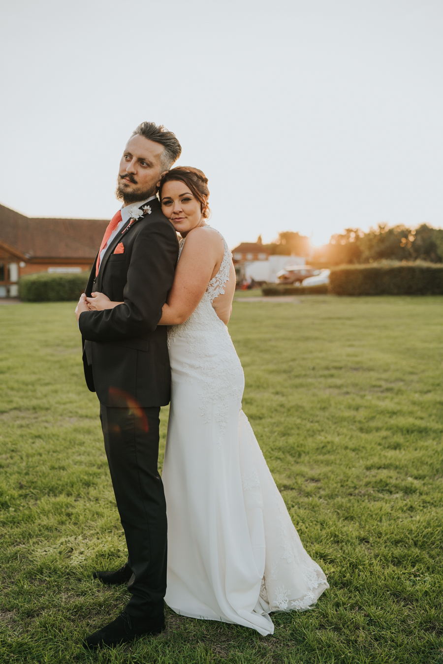 Golden hour wedding pics for a gorgeous colchester wedding, with Photography by Grace (22)